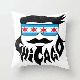 Chicago Bob Throw Pillow
