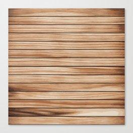Nice Brown Wood Blend Pattern Canvas Print