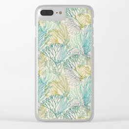 Flowing sea 2 Clear iPhone Case