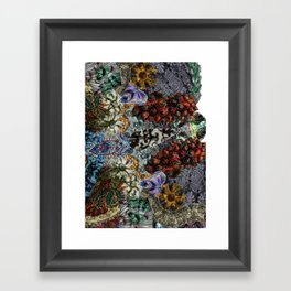 Psychedelic Botanical 15 Framed Art Print