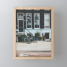 Adoring Amsterdam Framed Mini Art Print