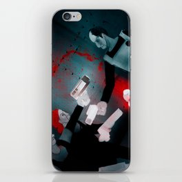 REBELS - Heavy Metal Thunder Artwork iPhone Skin