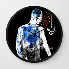 love and gravity version 34218 Wall Clock