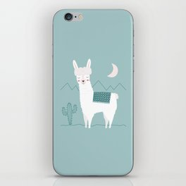 Alpaca In The Mountains iPhone Skin