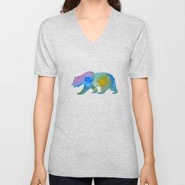Bear Unisex V-Neck