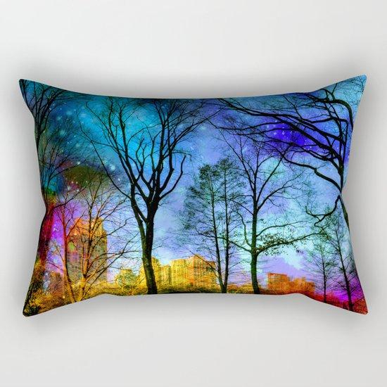 Magical sky Central Park  Rectangular Pillow