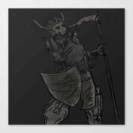 Carrion King Shirt Canvas Print