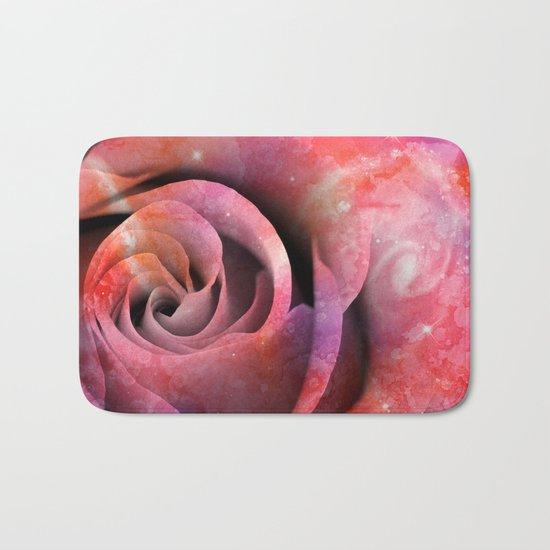 Celestial Love Rose Bath Mat