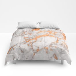 Copper Marble Comforters