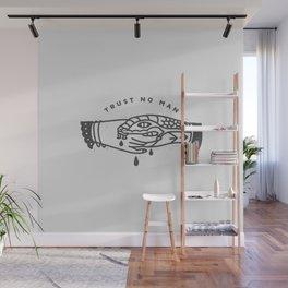 Trust No Man Wall Mural