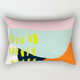 pink cloud Rectangular Pillow
