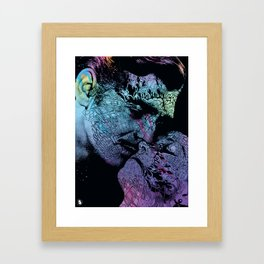 Gone with the Skin Framed Art Print