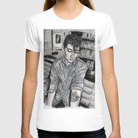 alex turner T-shirts featuring Alex Turner tattoo by vooce & kat