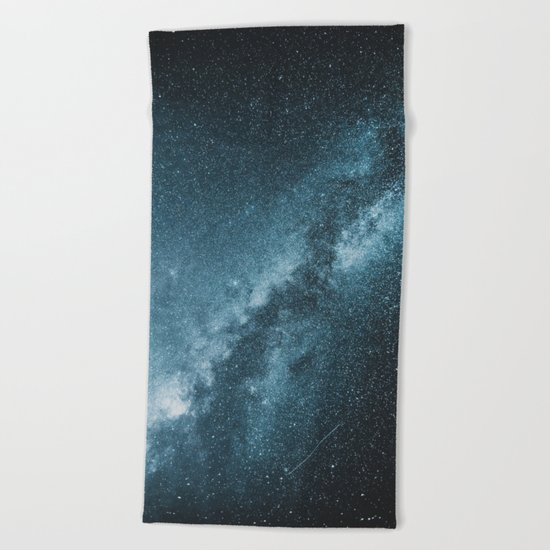Galactic Core Beach Towel