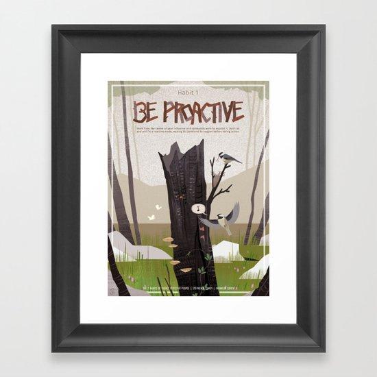 Habit 01 - Be Proactive by gatoiberico
