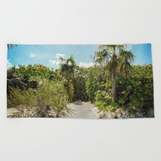 Pathway to Paradise Beach Towel