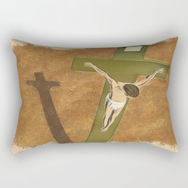 Golgotha Rectangular Pillow
