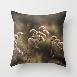 Cerrado Flower Throw Pillow
