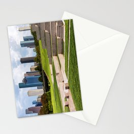 Downtown Houston Skyline from Police Officer's Memorial Stationery Cards