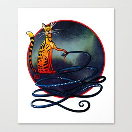 Ra and Apep Canvas Print