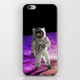 Astronaut Low Poly iPhone Skin