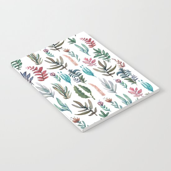 water color garden Notebook