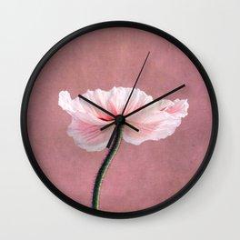 Madame Poppy Wall Clock