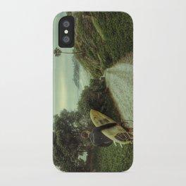 Surfer Boy, Cardiff, California iPhone Case