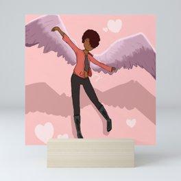 Just Like An Angel Mini Art Print