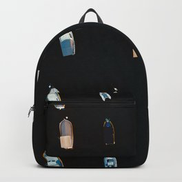 Anchored Boats  Backpack