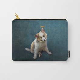 Amazing Puppy Trick Carry-All Pouch