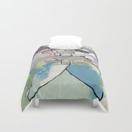 Ghost in the Stone #2 Duvet Cover