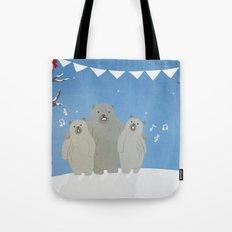 Winter Bears Tote Bag