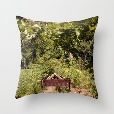nature at its best Throw Pillow