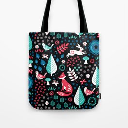 Electric Forest Tote Bag