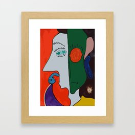 Indecision Framed Art Print
