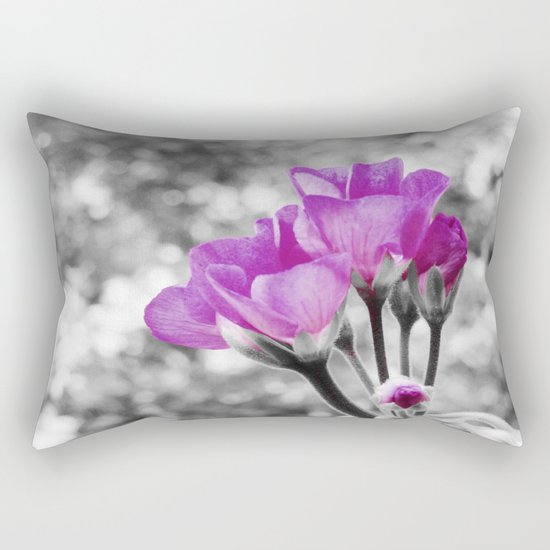 Fuchsia fLOWERS Rectangular Pillow