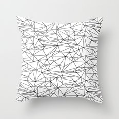 Geometric Wire Throw Pillow