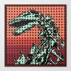 Apatosaurus Skeleton Canvas Print