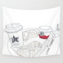 Pret A Manger in London Wall Tapestry