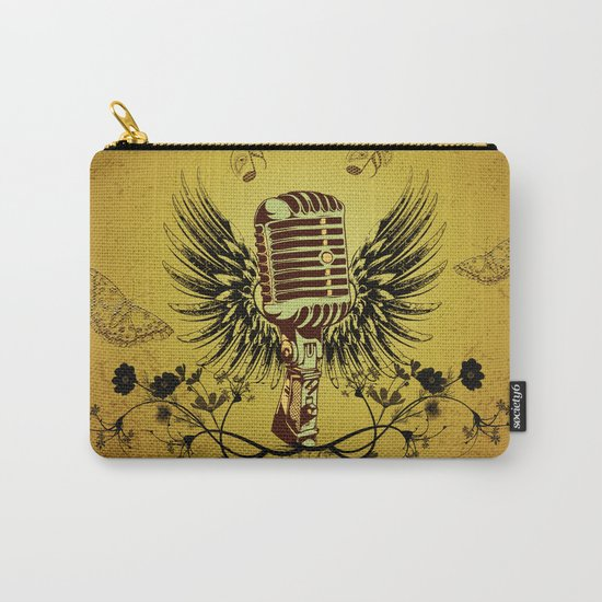 Music, microhpone  Carry-All Pouch