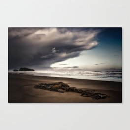Stranded Before The Storm 1 Canvas Print