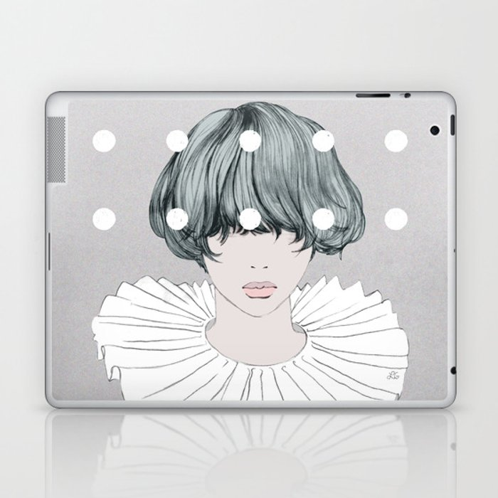 Charlotte Laptop & iPad Skin