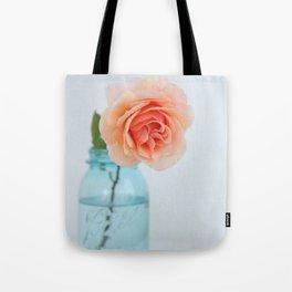 Rose in a Jar Tote Bag