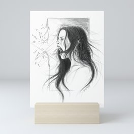 Pain into anger Mini Art Print