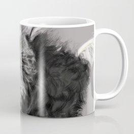 Old English Sheepdog On the Move Coffee Mug