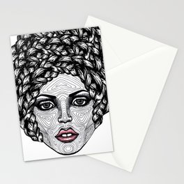 Big Hair Stationery Cards