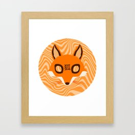 Kitsune ! Framed Art Print