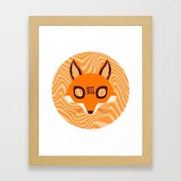 Kitsune ! Framed Art Print
