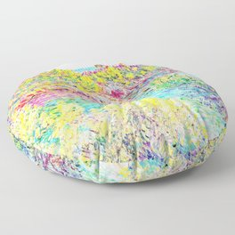 MONET : Landscape Near Montecarlo Floor Pillow